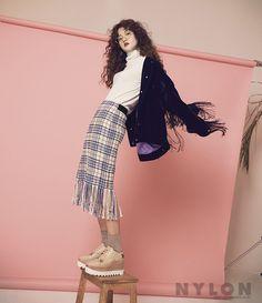 ROMANTIC FRINGE - NYLON:Fashion