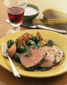 Pepper-Crusted Round Roast | Healthy 100 We recommend that you always taste your food before reaching for the salt shaker. If you wish to add salt, a good everyday salt is Sel Gris Sea Salt. Only use a pinch and sprinkle it with your fingers over your food. Sea salts are much more robust than regular salt and a better choice health-wise. www.finishingtouchsalts.com/products