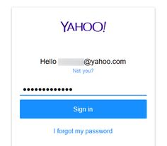 Yahoo Mail Inbox Login - How to Sign In to Yahoo.com Email Account Mail Email, Mail Icon, Check Your Email, Forgot My Password, Login Form, Login Page, Web Browser, What You Can Do, Accounting