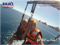 Unstoppable Fun with BAJA´S! Diversión Imparable con BAJA´S!  #LosCabos #Bajaswatersports #Watersports