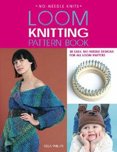 Loom Knitting Pattern Book | AllFreeKnitting.com