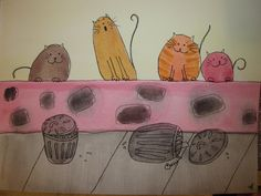 singing cats watercolour Watercolor Cat, All About Cats, New Hobbies, Tattoo Inspiration, Singing