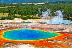 Amerika Birleşik Devletleri -Grand Prismatik Springs