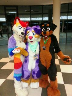 xenowoof:   Eurofurence21 - Skittles, Jenna &... / Fuckin' Awesome Fursuits