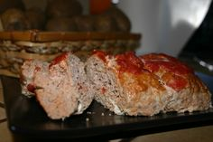 Romano Chicken Meatloaf