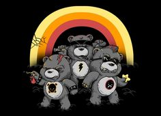 Don't Care BearsThe Don't Care Bears T-Shirt was just added to Threadless. Artist: Shirt Print Method: Design Description: Thank you everyone even tho I Care Bears, Banksy, Famous Cartoons, Punk, Cultura Pop, Looks Cool, Cartoon Characters, Don't Care, Pop Culture