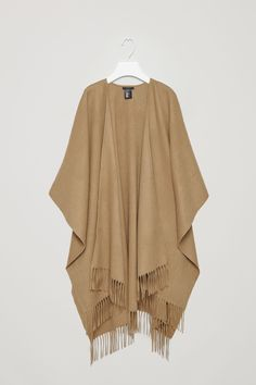 COS image 4 of Fringed cape in Tan