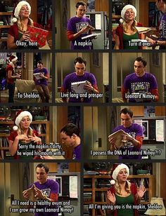 Love this scene rofl The man who doesn't emote just goes freaking BONKERS hehehehe Big Bang Theory - www.funny-pictures-blog.com