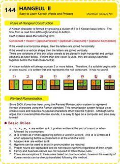 물음표 느낌표 ... 마침표™ 그리고 예향(睿響) Easy to Learn Korean Language 141 ~ 150