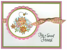 For A Special Friend Card