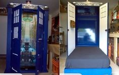 TARDIS BED!! Yes, when I find something Dr. Who themed it will be in capitals.