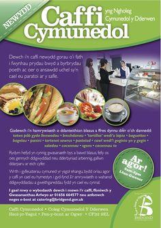 Leaflet designed for local council in welsh #design #leaflet #graphic #cafe #bridgend #welsh