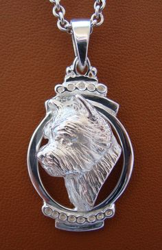 Sterling Silver Norwich Terrier Head Study On A Vertical Oval Frame Pendant Boxer Dogs, Pet Dogs, Norwich Terrier, Dog Jewelry, What Is It Called, Oval Frame, Gift List, Westies, Dog Breeds