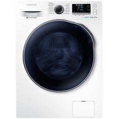 Masina de spalat rufe Samsung WD80J6410AW, 1400 RPM, Uscator, Clasa A… Samsung, Washer And Dryer, Washing Machine, Home Appliances, December, House, Bathroom, Engine, Drum