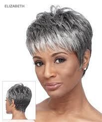 short salt and pepper hair women - Google Search                                                                                                                                                      More