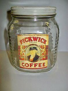 Vintage-Pickwick-Coffee-Jar