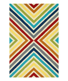 Another great find on #zulily! Rainbow Palm Springs Indoor/Outdoor Rug #zulilyfinds
