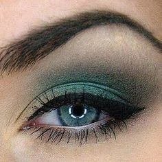 Green Tea - Breathtaking Look for Blue & Green Eyes - Recreate with Cyprus & Sunshine Eyeshadows & Black Liner -  gracemyfaceminerals.co