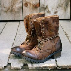 I love how perfectly broken in these look but they're new! - The Montana Boot, Spool No, 72
