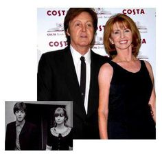 "Actress Jane Asher inspired many Beatles songs, including ""And I Love Her"" and ""Here, There, and Everywhere""♥♥Paul McCartney♥♥ ♥♥Jane Asher♥♥ then & now Jane Asher, Paul Mccartney Beatles, Linda Mccartney, Sir Paul, John Paul, Rock And Roll, Photo Souvenir, The Fab Four, British Invasion"