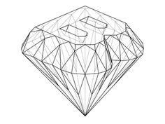 Diamond B - HEIST logo rings aesthetic decorations Diamond Graphic, Diamond Art, Diamond Design, Diamond Rings, Diamante Logo, Gem Logo, Diamond Illustration, Diamond Decorations, Name Card Design
