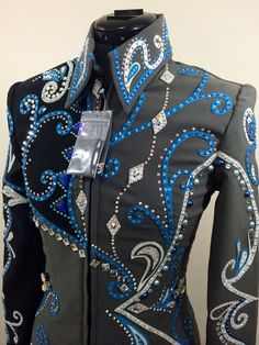 Showmanship jacket by Tandy Jo Show Apparel Available at www.tandyjo.com