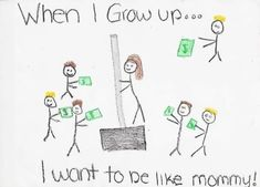 15 Inappropriate (But Oh So Funny) Kids& Drawings-If you& a parent, then I don& have to tell you that kids can be inappropriate at times. A lot, actually. Click through to view these 14 inappropriate (yet hilarious) kids& drawings. Funny Quotes, Funny Memes, Hilarious, Jokes, Funniest Memes, Stupid Memes, Little Girl Drawing, Drawing For Kids, Fun Clips