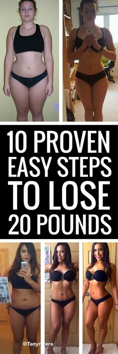 10 effortless ways to lose 20 pounds.