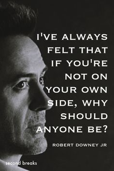 Robert Downey Jr | Choose yourself