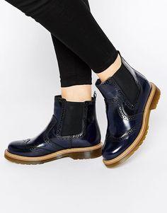Bronx Brogue Chelsea Boots