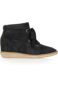 isabel marant seude sneakers.  swoon.