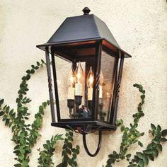 Explore outdoor lighting to brighten your patio, porch or walkway. Find the best outdoor lighting at Ballard Designs today! Outdoor Light Fixtures, Outdoor Wall Lantern, Outdoor Wall Sconce, Outdoor Walls, Exterior Light Fixtures, Porch Lighting, Luxury Lighting, Exterior Lighting, Outdoor Lighting