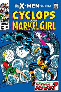 Marvel Girl & Cyclops