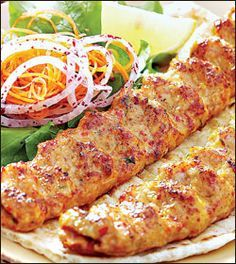 Chicken Kofta Kebabs.