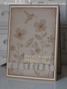 Fancy Friday using Wildflower Meadow from the new Stampin' Up! catalogue - Stampin Up Demonstrator Michelle Last