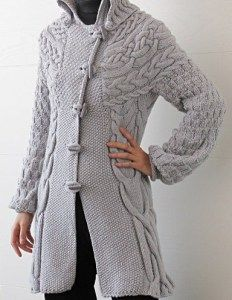Minimissimi Cable Coat Knitting Pattern