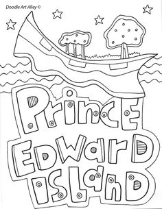 Canada Coloring Pages and Printables - Classroom Doodles School Age Activities, School Worksheets, Kindergarten Activities, Canada For Kids, All About Canada, Canada Day Fireworks, Canadian Culture, Preschool Programs, Prince Edward Island
