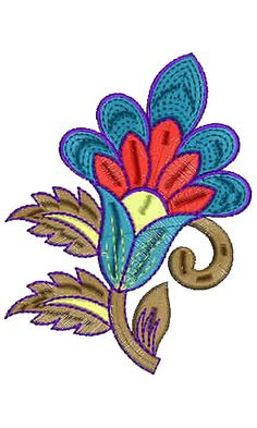 8607 Patch Embroidery Design