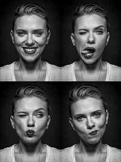 Scarlett Johansson portrait by Andy gotts - A Great portrait that shows pure human feelings in face. She has a strong face. Andy Gotts, Kreative Portraits, Photo Star, Too Faced, Shooting Photo, Face Expressions, Celebrity Portraits, Celebrity Photos, Famous Portraits