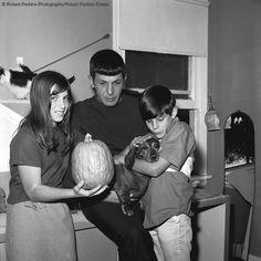 dachshund and Leonard Nimoy Family