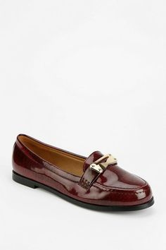 Cooperative Metal Penny Loafer  urbanoutfitters Tomboy Chic 114339b7e21e