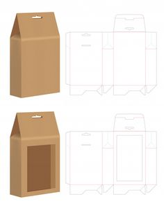 Diy Gift Box, Diy Box, Box Packaging, Packaging Design, Diy Paper, Paper Crafts, Paper Box Template, Box Templates, Printable Box