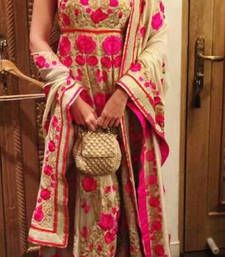 Buy Sonam In Pink Chiku Suit sonam-kapoor-saree online