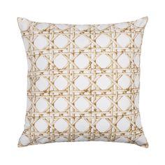 Rattan Print Scatter Cushion