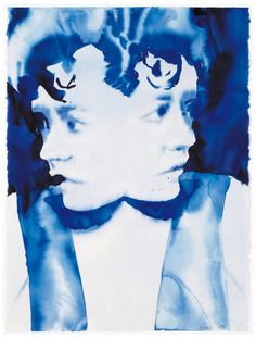 """Robert Lucander, """"doppelgänger II"""", 2006, watercolour and pencil on paper, 76,6 x 57 cm, Donopoulos International Fine Art, Courtesy of the gallery"""