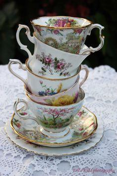 LOVE beautiful tea cups and sets!!! :)