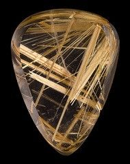El poder de los cristales y las piedras | Cuarzo rutilado
