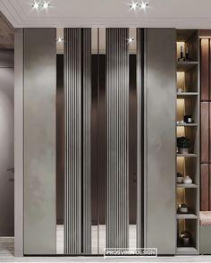 Wardrobe Door Designs, Wardrobe Design Bedroom, Wardrobe Doors, Home Room Design, Interior Design Living Room, Modern Apartment Design, House Outside Design, Bedroom Cupboard Designs, Luxury Interior Design