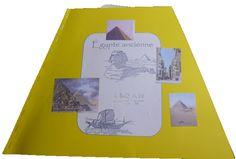 Couverture du lapbook sur l'Egypte antique (décembre 2010). www.carpediem.asso.fr