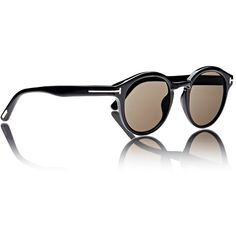 Tom Ford Lucho Sunglasses (5.720 ARS) ❤ liked on Polyvore featuring accessories, eyewear and sunglasses
